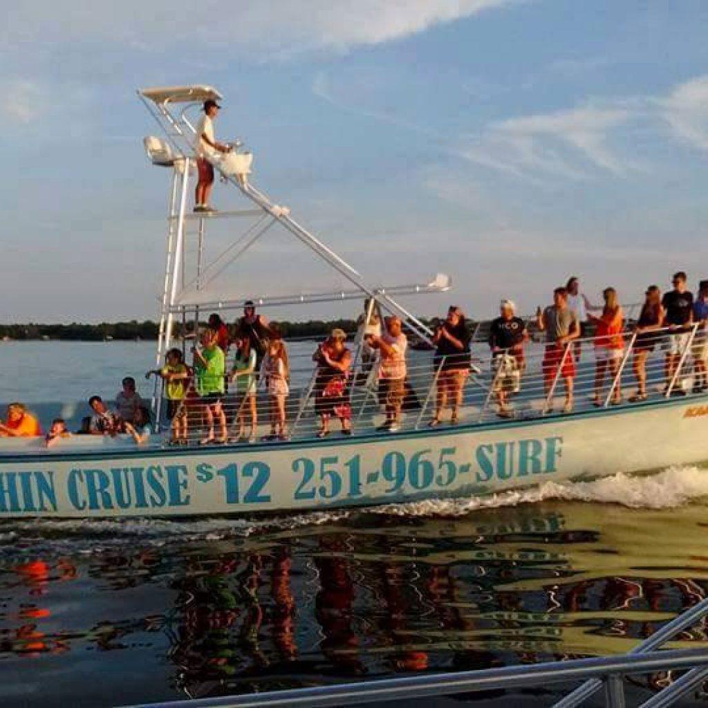 Perdido Key Alabama: Find Surf's Up Dolphin Cruises In Orange Beach, Alabama